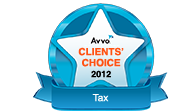 Avvo Client's Choise 2012 Tax